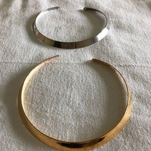 Premier Designs Gold & Silver Chokers